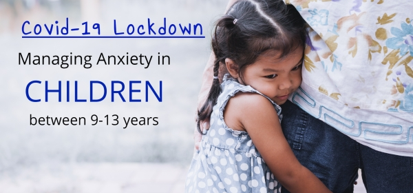 Managing Anxiety in Children